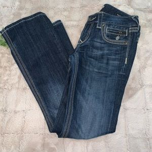 Rerock for Express Barely Boot Jeans Size 2 Short